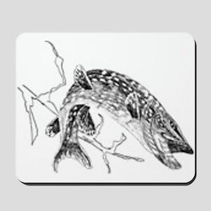 Northern Pike Mousepad