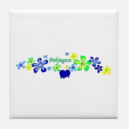Pekingese Tile Coaster