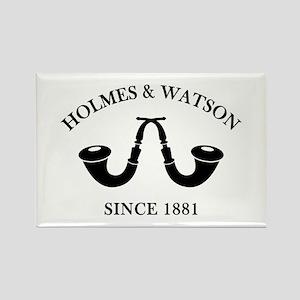 Holmes & Watson Since 1881 Rectangle Magnet