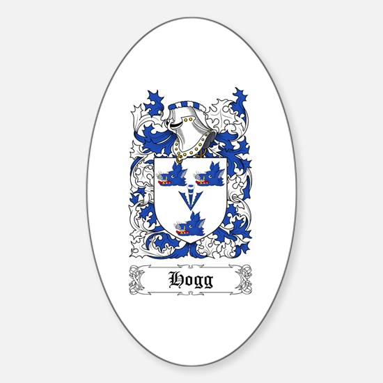 Hogg Sticker (Oval)