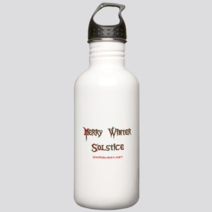 Merry Winter Solstice 01 Stainless Water Bottle 1.