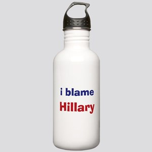 I Blame Hillary Stainless Water Bottle 1.0L