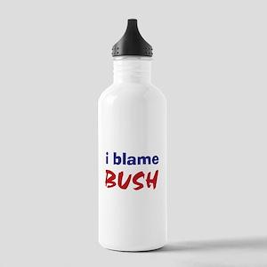 I Blame Bush Stainless Water Bottle 1.0L