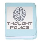Thought Police baby blanket