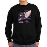 Cheshire Cat Sweatshirt (dark)