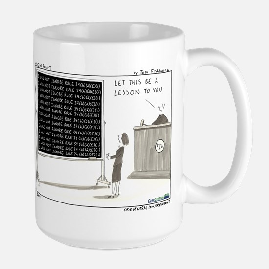 Request for Production Large Mug