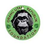 OURF Free to be Wild Ornament (Round)