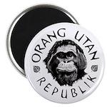 """""""Orang Utan Republik"""" Logo Magnet"""