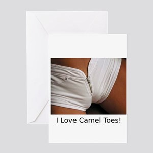 """I Love Camel Toes!"" Greeting Card"