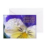 Heartsease -- Greeting Card