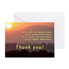 Greeting Card -- thank you