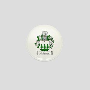 Selvaggi Family Crest Mini Button