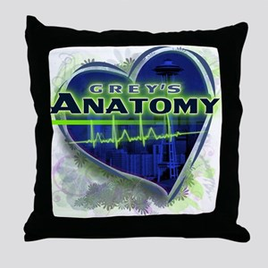 Grey's Anatomy TV Fan Throw Pillow