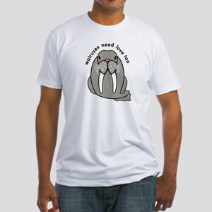 walruses need love too Fitted T-Shirt