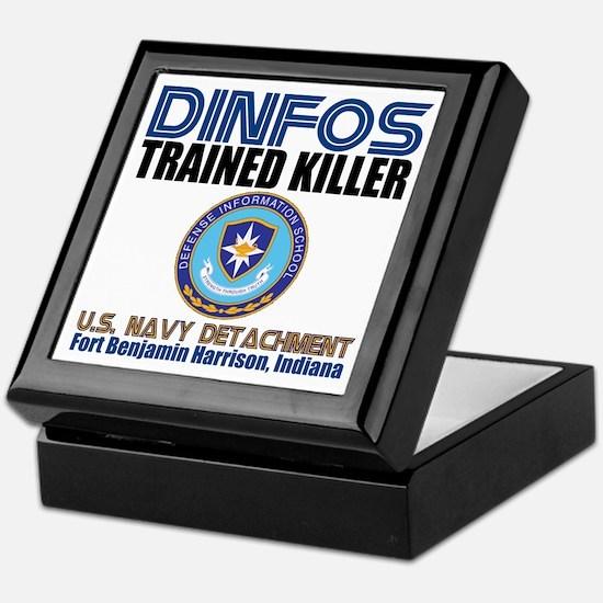 DINFOS Navy Keepsake Box