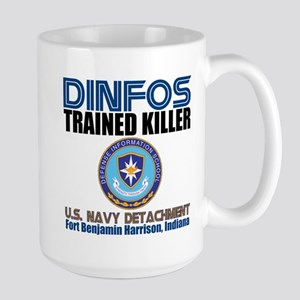 DINFOS Navy Large Mug