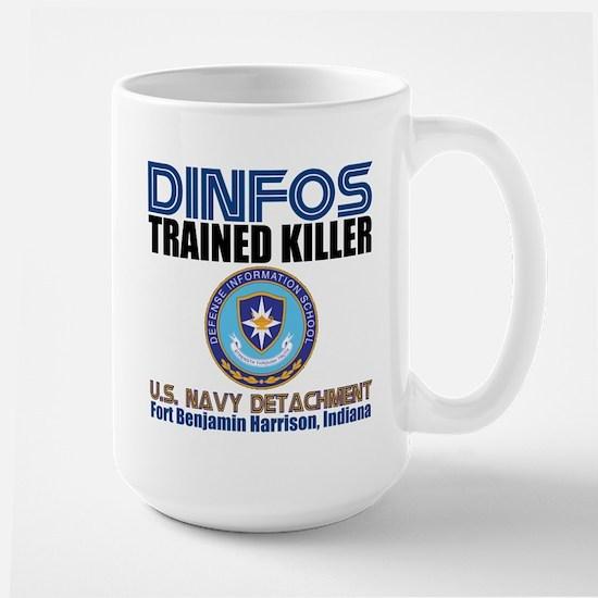 DINFOS Navy Large Mug