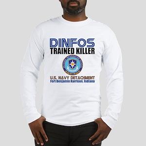 DINFOS Navy Long Sleeve T-Shirt