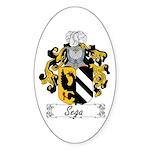 Sega Family Crest Oval Sticker