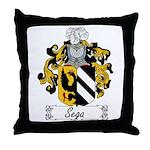 Sega Family Crest Throw Pillow