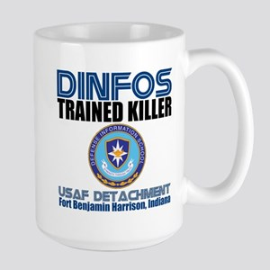 DINFOS Air Force Large Mug