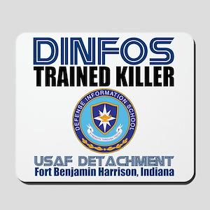 DINFOS Air Force Mousepad