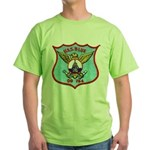 USS BLUE Green T-Shirt