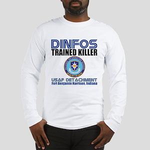 DINFOS Air Force Long Sleeve T-Shirt