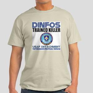 DINFOS Air Force Ash Grey T-Shirt
