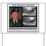 FREE Bradley Manning Yard Sign