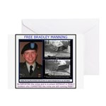 FREE Bradley Manning Greeting Card