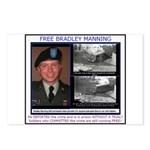 FREE Bradley Manning Postcards (Package of 8)
