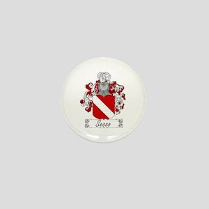 Secco Coat of Arms Mini Button