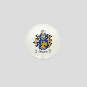 Sebastiani Family Crest Mini Button