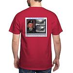 FREE Bradley Manning Dark T-Shirt--Back Image Only