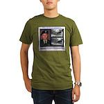 FREE Bradley Manning Organic Men's T-Shirt (dark)