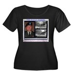 FREE Bradley Manning Women's Plus Size Scoop Neck