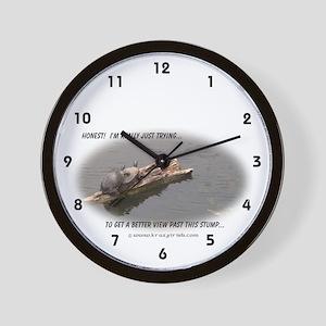 Krazy Irish Honest Turtle Wall Clock