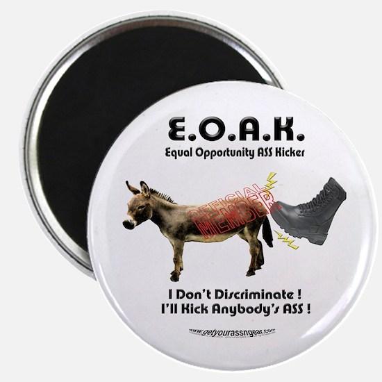 """E.O.A.K. Equal Op Ass Kicker 2.25""""Magnet"""