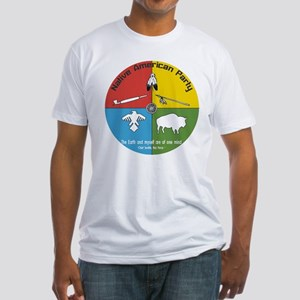 Native American Party Fitted T-Shirt