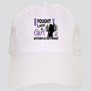 Fought Like A Girl Hodgkin's Lymphoma Cap