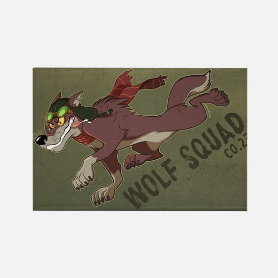 Wolf Squad Co. 23 Magnet