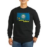 ILY South Dakota Long Sleeve Dark T-Shirt
