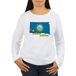 ILY South Dakota Women's Long Sleeve T-Shirt