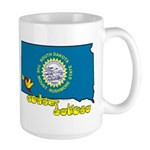 ILY South Dakota Large Mug