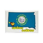 ILY South Dakota Rectangle Magnet (100 pack)