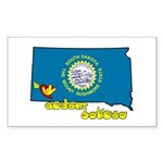ILY South Dakota Sticker (Rectangle 50 pk)