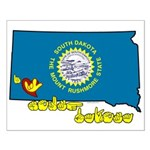 ILY South Dakota Small Poster