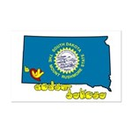 ILY South Dakota Mini Poster Print