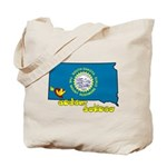 ILY South Dakota Tote Bag